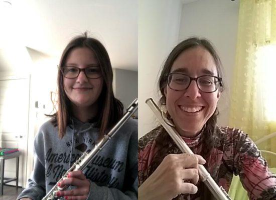 Annie Gravel flute traversiere